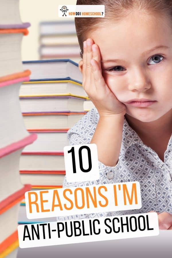 10 Reasons I'm Anti-Public Education