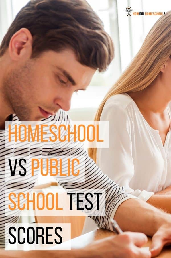 Investigate Homeschool vs Public School Test Scores from 1998, 2017,