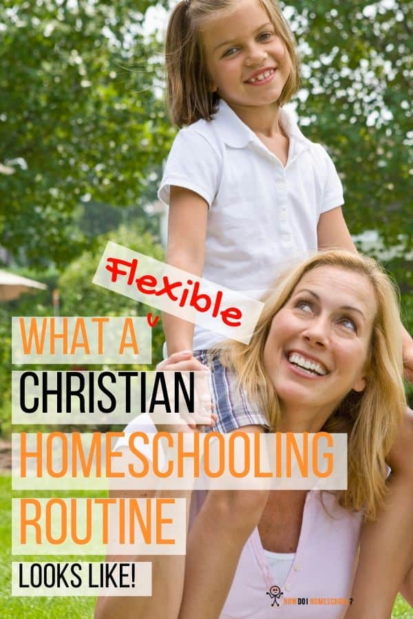 What a Flexible Homeschooling Routine Looks Like