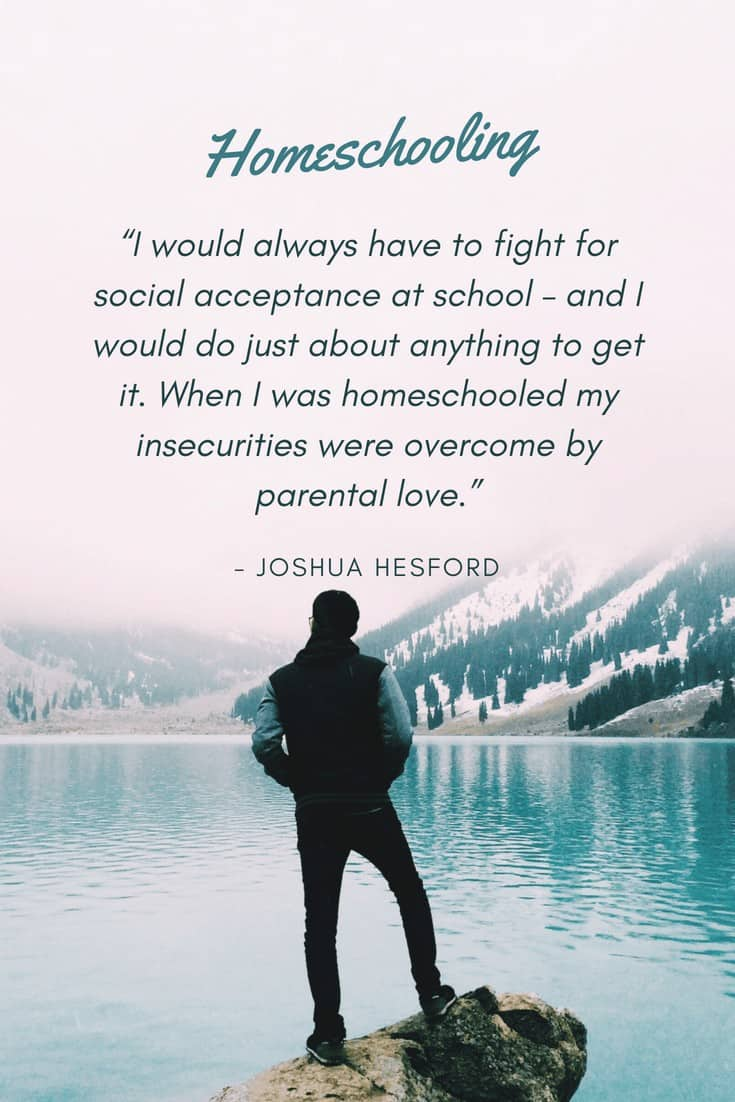 Homeschooling quote by Josh Hesford