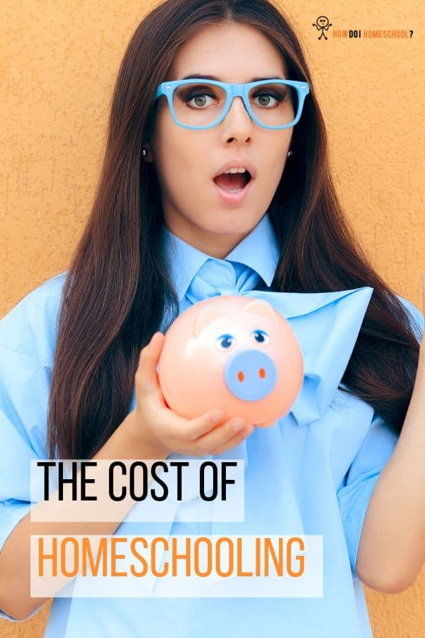 Discover the cost of homeschooling. Can you afford to home educate? Get a breakdown of costings. #homeschoolingcost #costofhomeschooling #affordhomeschooling