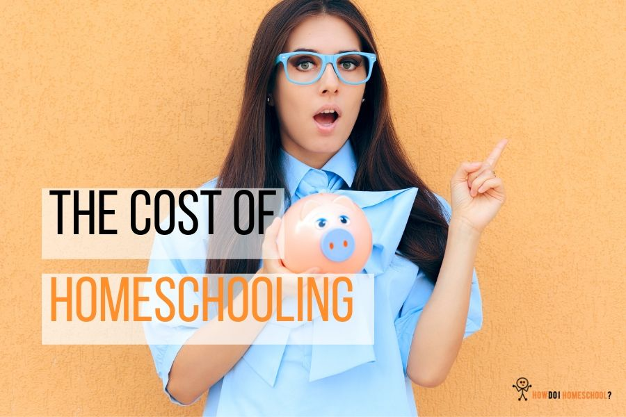 What is the cost of homeschooling? Can you afford to home educate your children? Checkout this article for more. #homeschoolingcost #costofhomeschooling #affordhomeschooling