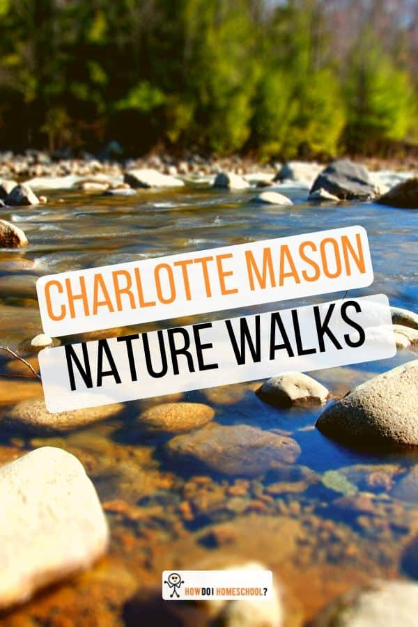 Get #boys interested in nature and gardening by encouraging their love of outdoor play with Charlotte Mason nature walks. #naturewalks #outdoorplay #CharlotteMason #homeschool
