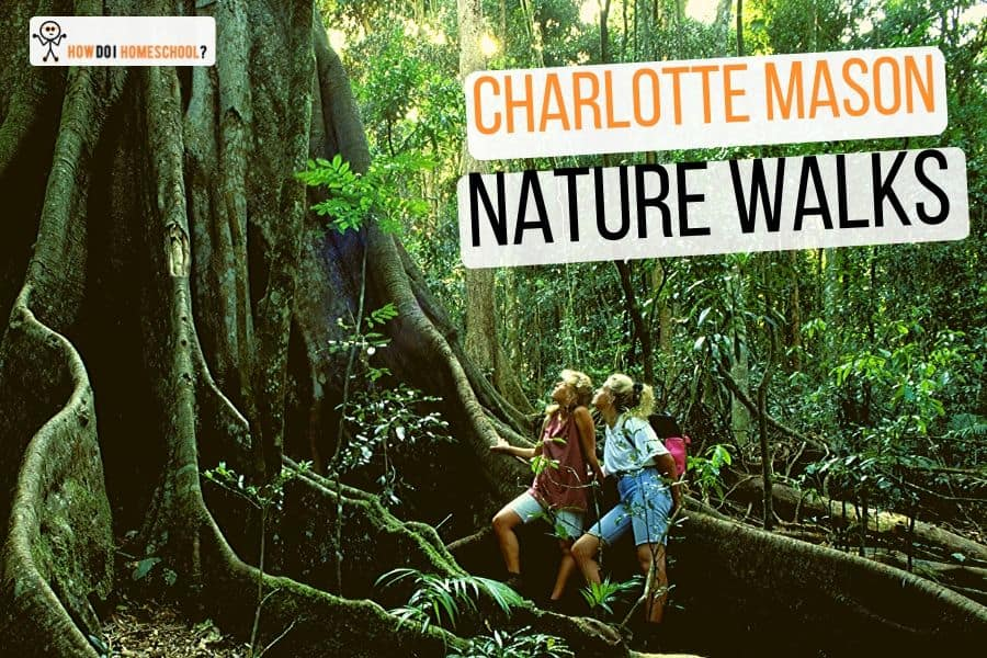 Charlotte Mason Nature Walks #naturewalks