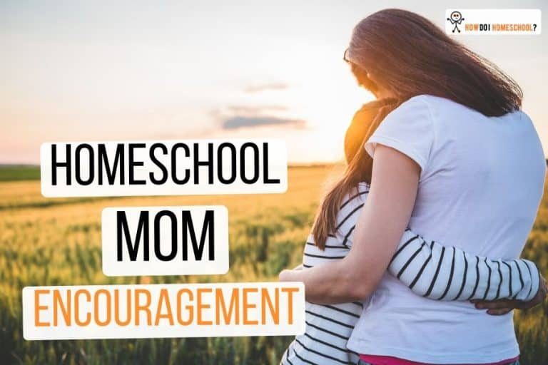 Home Education Encouragement for the Mom Who Feels like Quitting