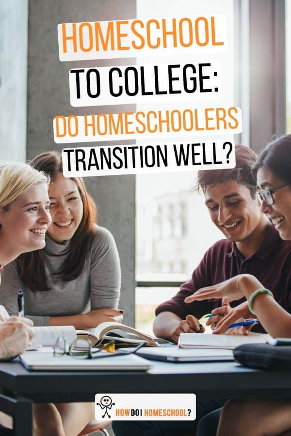 Do #homeschoolers fit into #college well? Are their social skills adequate to ensure they don't 'stick out' too much? Find out here.