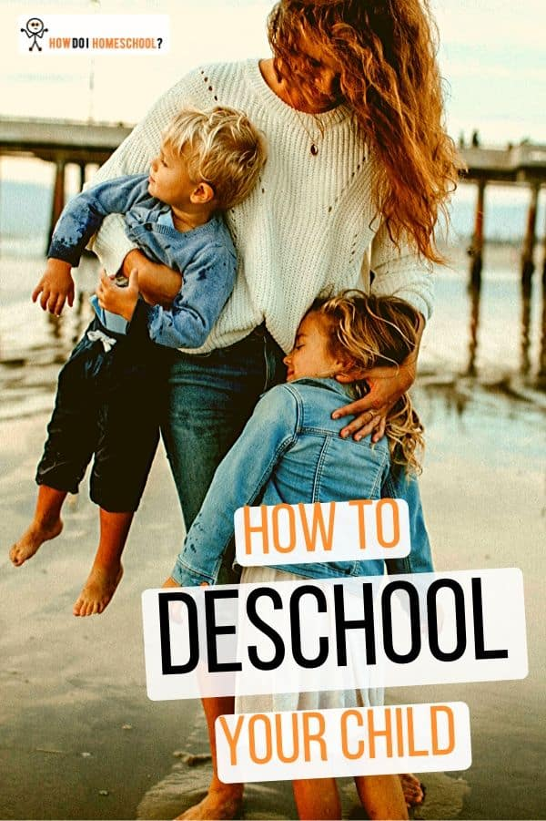 The #deschooling process: learn how to transition your children from school to #homeschool without the tears. Discover how to effectively #deinstitutionalize your children so you'll have an even better learning experience!