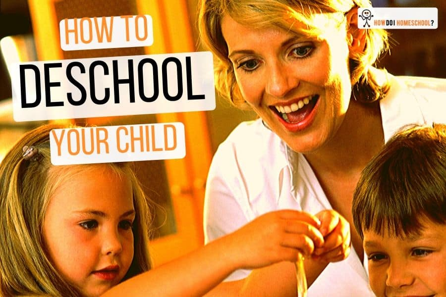 Learn how to deinstitutionalize your children before you #starthomeschooling, by using the deschooling process. #deschool #homeschool #unschool #johnholt