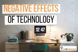 Negative Effects of Technology: Impact of Technology Overuse