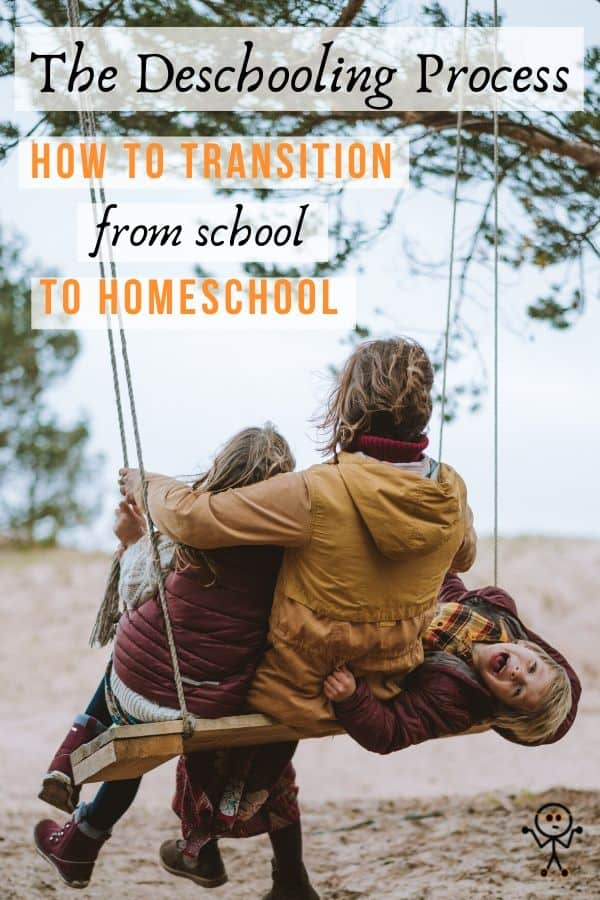 The #deschooling process: learn how to transition your children from school to #homeschool without the tears. Learn how to effectively #deinstitutionalize your children so you'll have an even better learning experience!