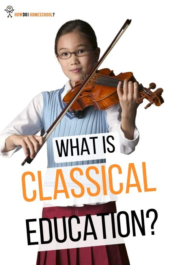 Classical homeschooling is a homeschooling approach which features the Classics in its curriculum. A classical approach to homeschooling means you will be following in the footsteps of some of the greatest men who've ever walked the planet - the likes of Galileo, Isaac Newton, and St. Paul of Tarsus. #howdoihomeschool #classicalhomeschooling