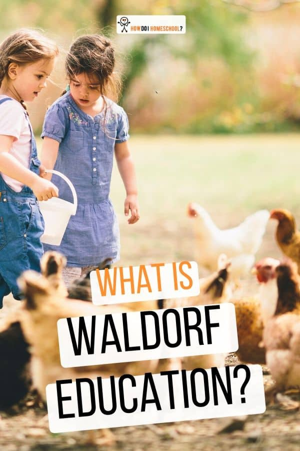 Should I Waldorf Homeschool? Discussion of anthroposophy and Christianity plus what a Steiner education looks like. #waldorfeducation