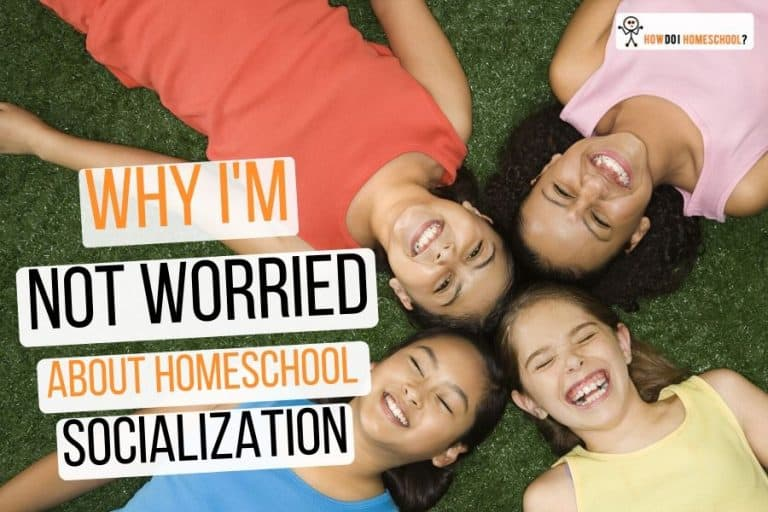 The biggest objection to #homeschooling is lack of #socialization. Learn why this isn't a big issue here.