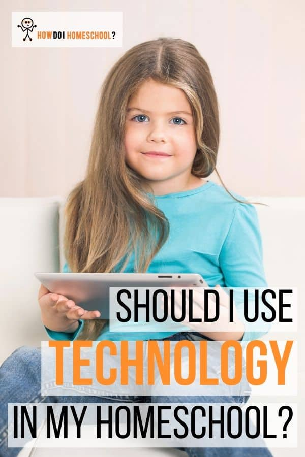 Are computers, iPads, and mobile phones a good idea for your home education? Do they help children learn or merely addict them? Get the pros and cons of using technology here. #homeschool #homeschoolcurriculum #technology