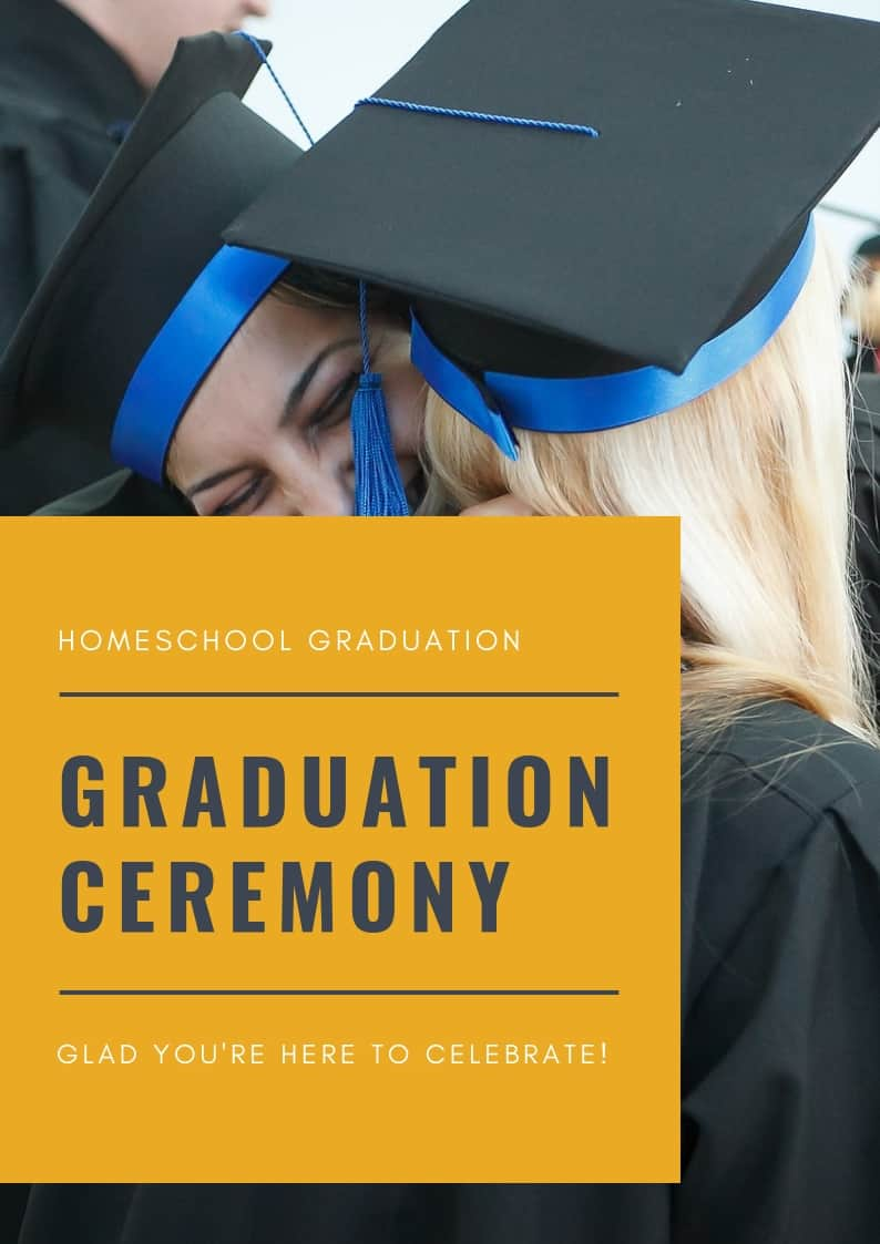 Homeschool Graduation Program Template Doc