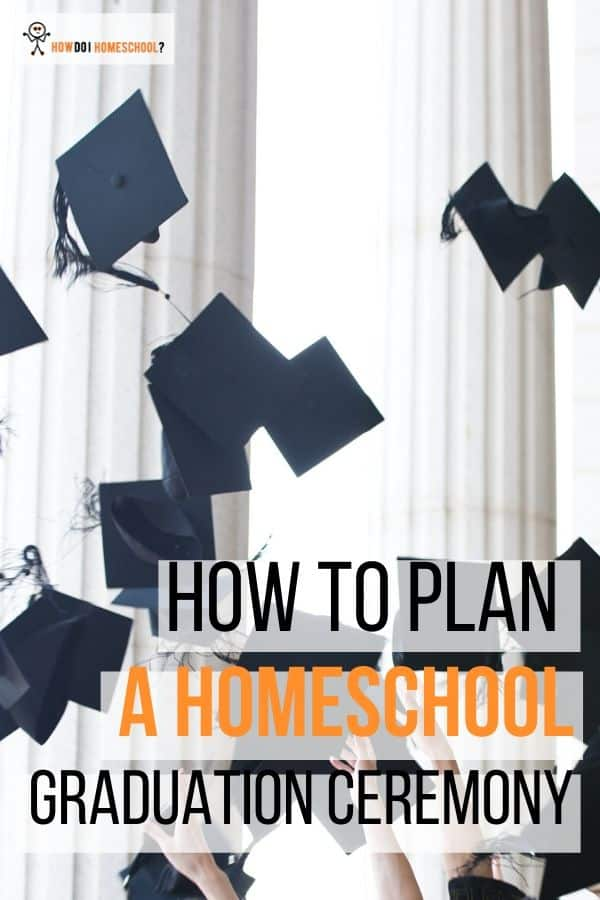 Are you a parent who's promptly started panicking following your homeschooled teenager asking you for a homeschool graduation ceremony? How on earth do you do that? And, given you're not so creative, how do you think up some decent creative homeschool graduation ideas? And, what goes on the #homeschool graduation ceremony program? #howdoihomeschool