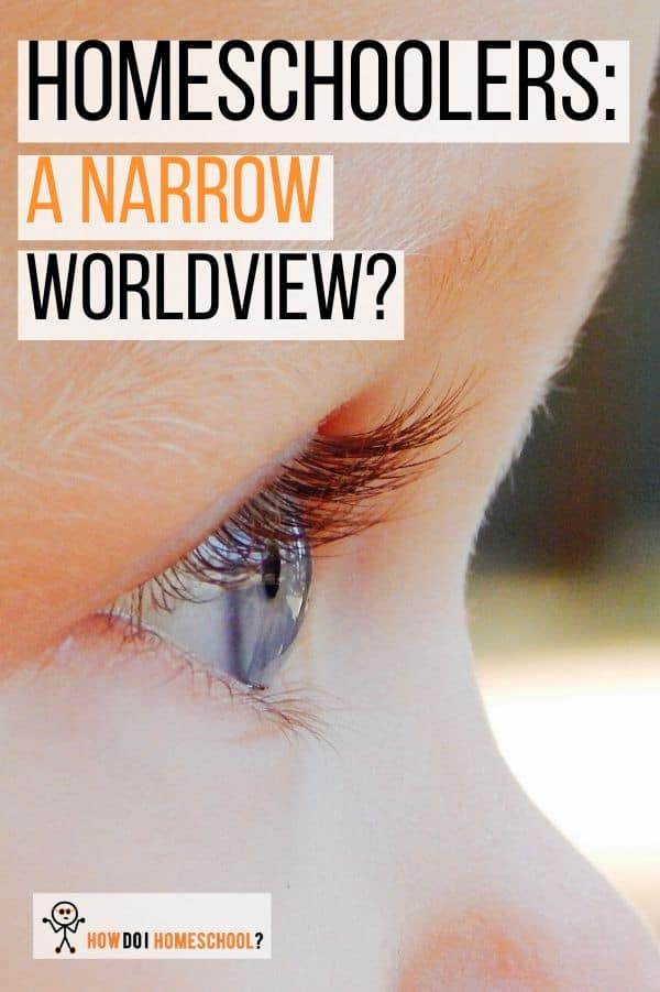 Do homeschoolers have a narrow worldview or is their perspective as broad or even broader than most schoolchildren? Find out here. #homeschoolers #worldview