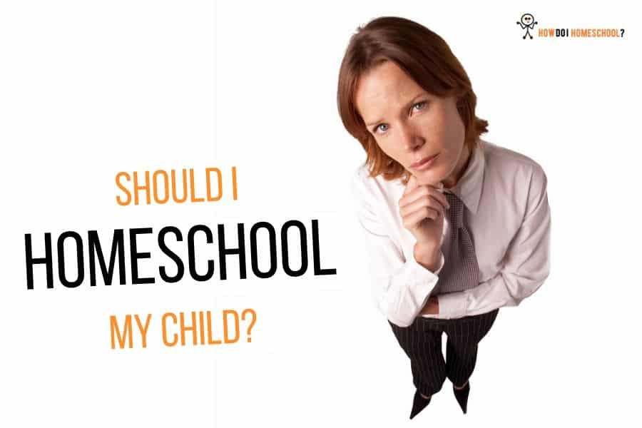 Should you homeschool your child? Is it a good choice? We examine a number of viewpoints and draw a conclusion. #homeschool