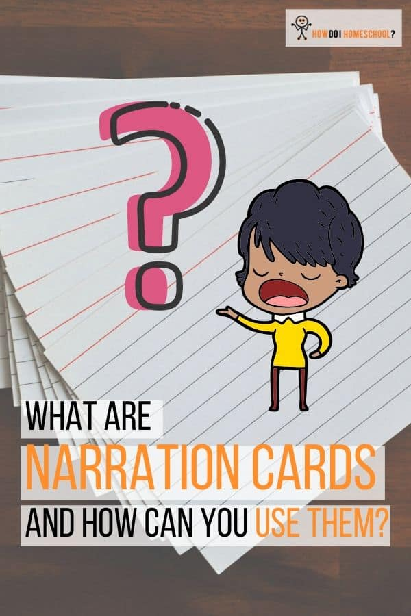 What are #Narration Cards and How to Use Them. #homeschooling #charlottemason
