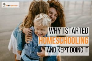Learn why this mom started homeschooling and kept going. #homeschoolinterview