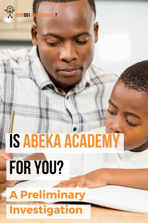 All you need to know about the Abeka Academy homeschool curriculum. #abeka #abekaacademy #howdoihomeschool