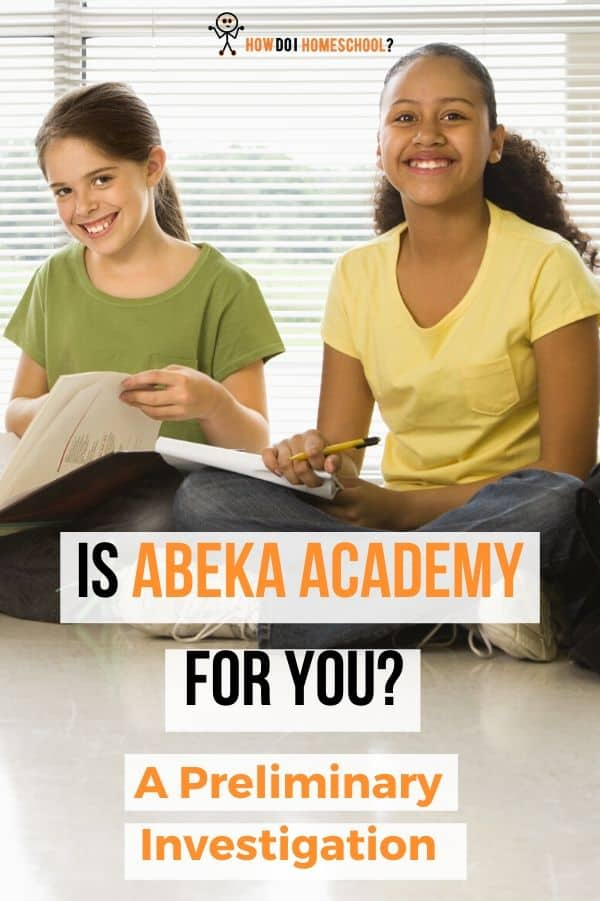 All you need to know about the #Abeka Academy homeschool curriculum. #abekaacademy #howdoihomeschool