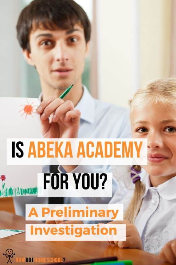 Homeschool curriculum review: Abeka Academy Homeschool Curriculum #homeschoolcurriculum #abekaacademy #reviews
