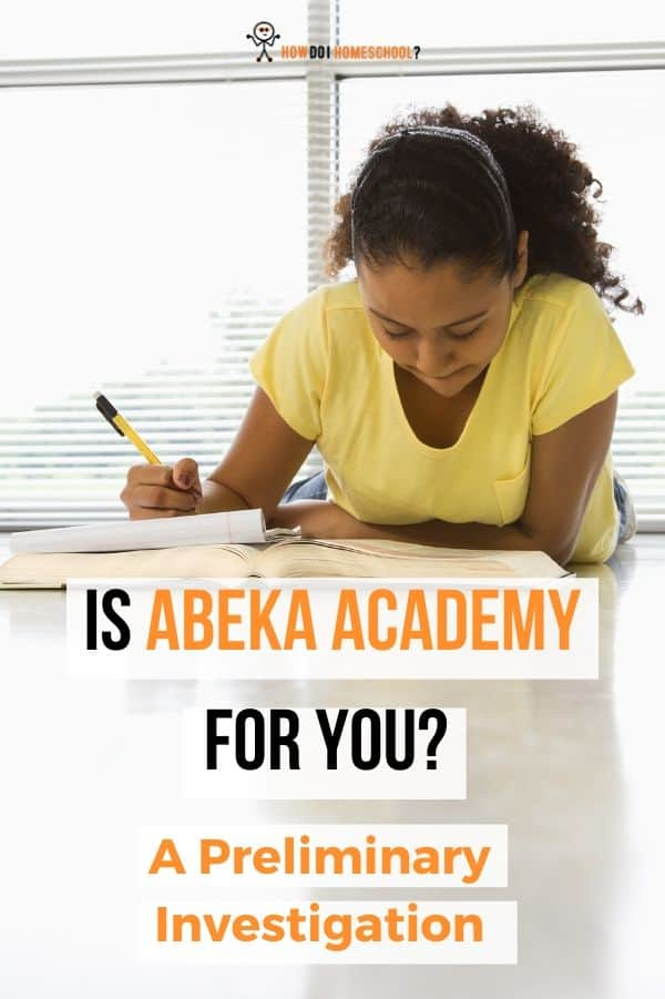 Is this homeschooling curriculum for you_ #homeschoolcurriculum #abeka #abekaacademy