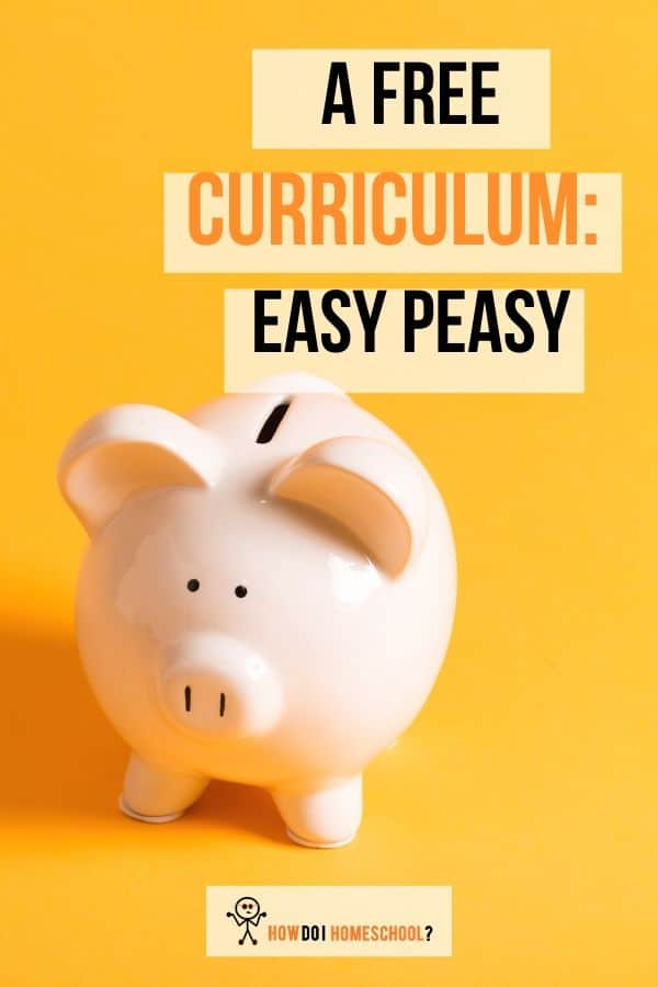Homeschool curriculum review. Easy Peasy All in One. #homeschoolcurriculumreviews #easypeasy #howdoihomeschool