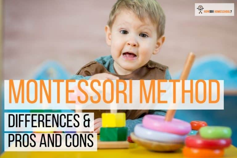 Discover the pros and cons of the Montessori method of education and whether this is something you can implement in your home. #montessorimethod #montessorieducation