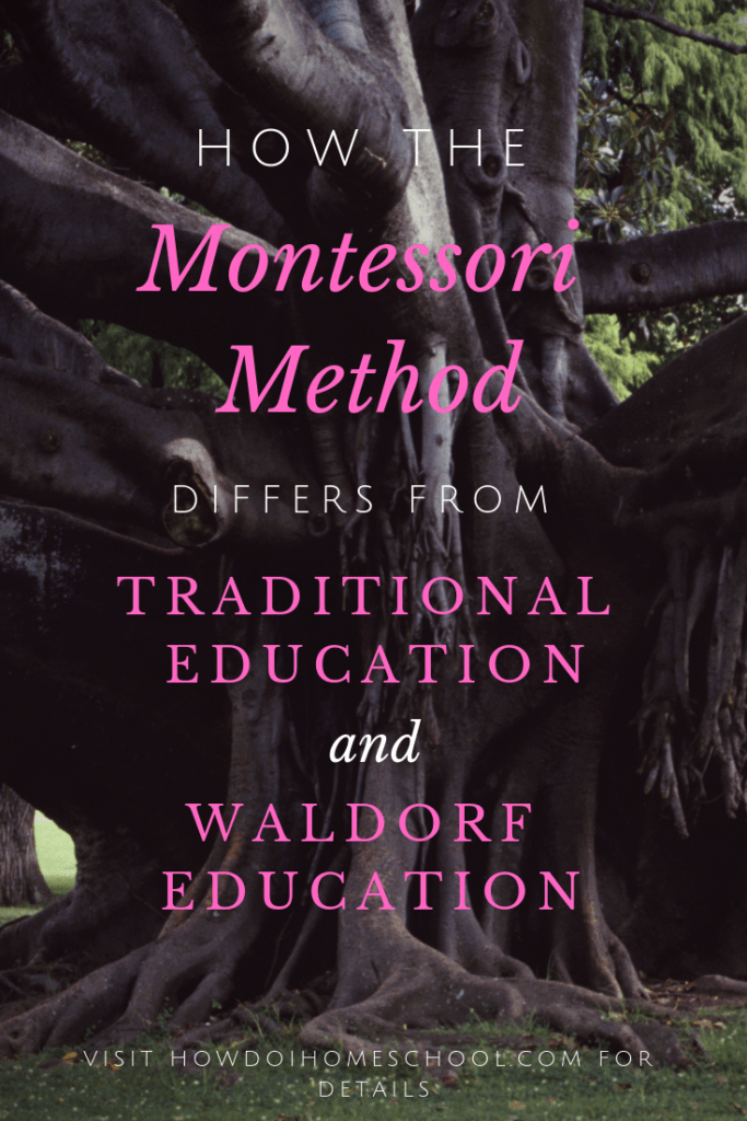 How the Montessori Method differs from Traditional Education and Waldorf Education. Montessori Education vs Traditional Education