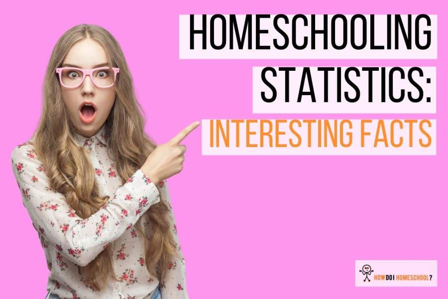 Homeschooling Statistics 2017 and Past: Get Exciting Homeschooling Facts! Stacks of graphs to learn a little more about #homeschoolingstatistics. #homeschoolingfacts