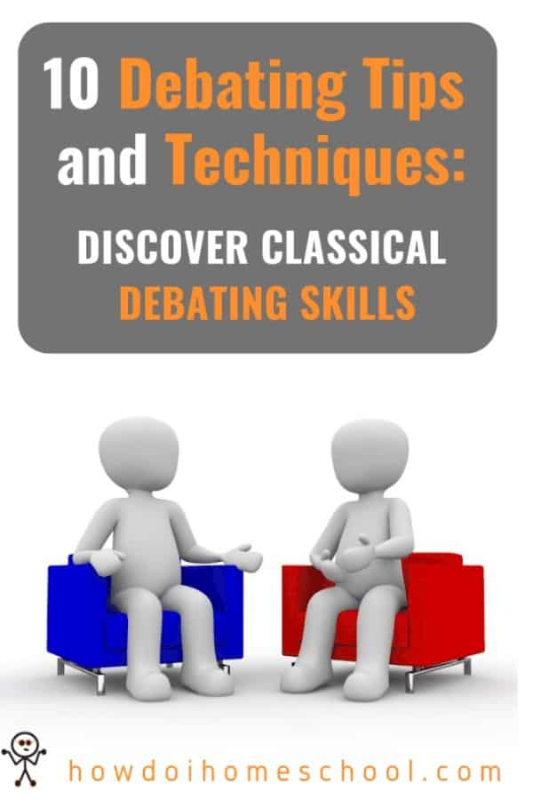 Debating skills are one of the best things you can give your children. They allow them to argue persuasively, learning debating tips which make them more eloquent and well-spoken. Discover great tips to help children become gracious public speakers. #debatingtips #debatingskills #debatetechniques