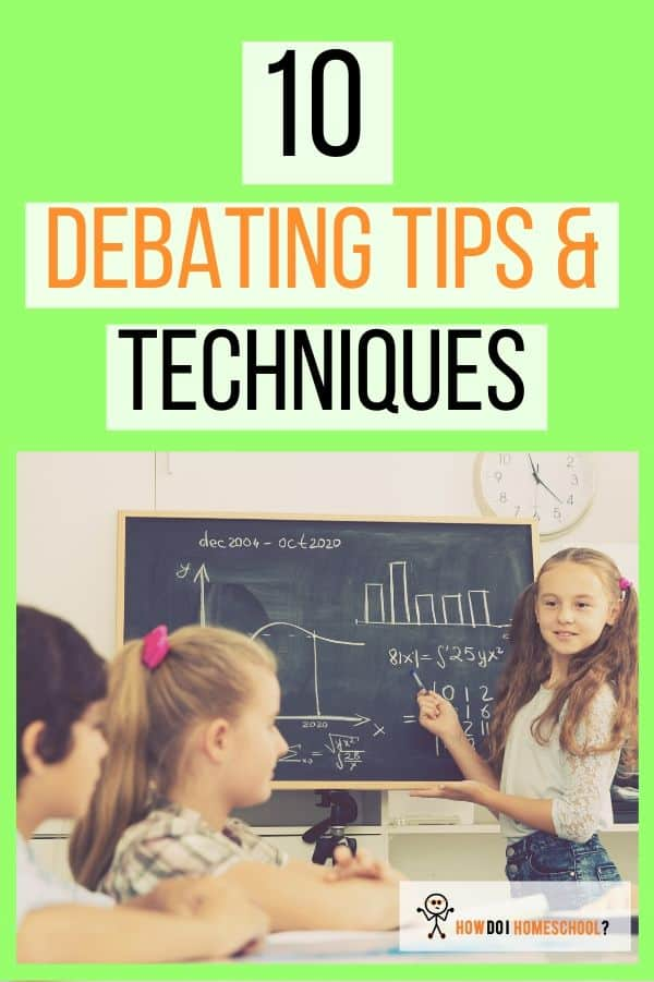 Learn amazing debating techniques to help you win arguments in a gracious way while conveying your point successfully. These debate skills will help every child learn to persuasively say what they need to say without faltering. #debatingtips #debatingtechniques #debatingskills
