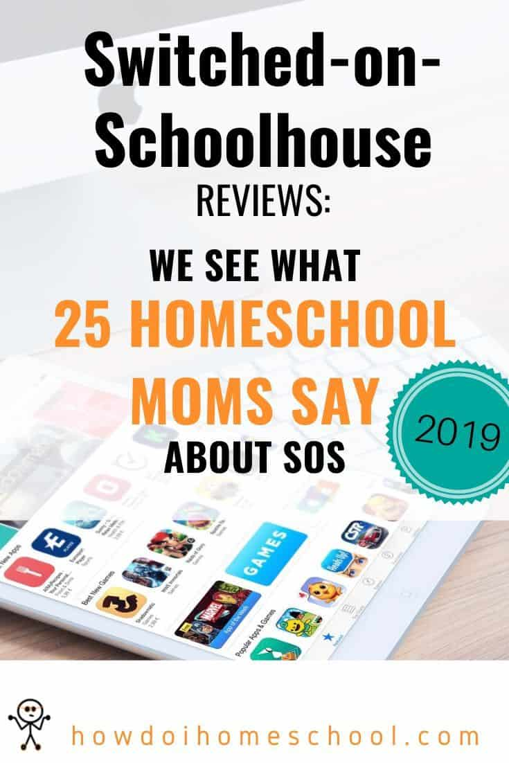Switched-on-Schoolhouse Reviews: About the SOS Homeschool Curriculum #soscurriculum #sosreviews #switchedonschoolhouse