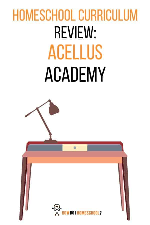 Homeschool curriculum review. Acellus Academy. #acellusacademy #homeschoolcurriculumreviews