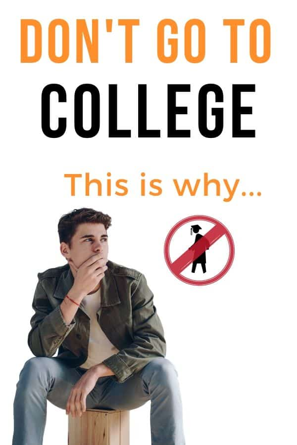 Why wouldn't you want your child to attend #college? Today, there are more and more things I'm disvering about college that make me not want to encourage my child to go there! Find out 10 reasons I don't want my child going to college here. #homeschool #reasonscollege