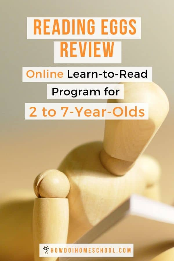 Reading Eggs Reviews. Learn to Read Program for 2 to 7-Year-Olds. #readingeggsreview #homeschool #learntoread