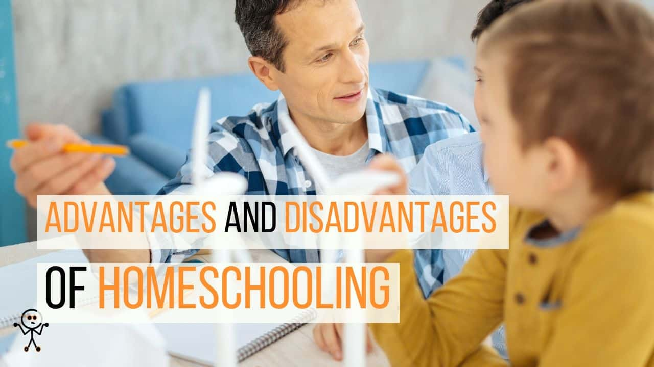 Advantages and Disadvantages of Homeschooling-min