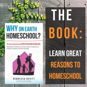 The Book_ It's about the reasons to homeschool!