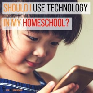 Should I Use Technology in My Homeschool? Is it a wise move for Christian home educators? Find out here.