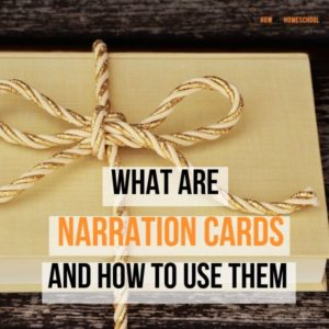 What are Narration Cards