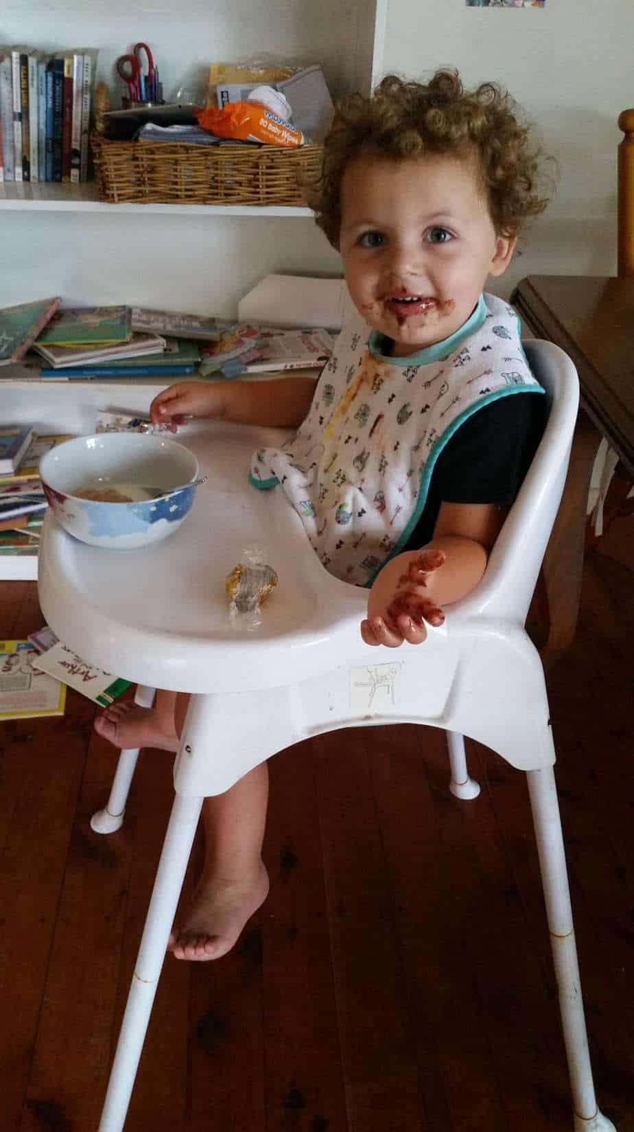 Boy gets a reward after doing a poop on day 4 of potty training. #day4tpottytraining #pottytraining