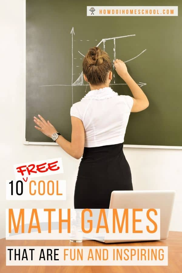 Stop making math lessons boring and spice them up using fun and inspiring math games. You can play these games for free with no or very little equipment. Go ahead and have fun with these cool math games! #freemathgames #coolmathgames #funmathgames #mathgames #inspiringmathgames