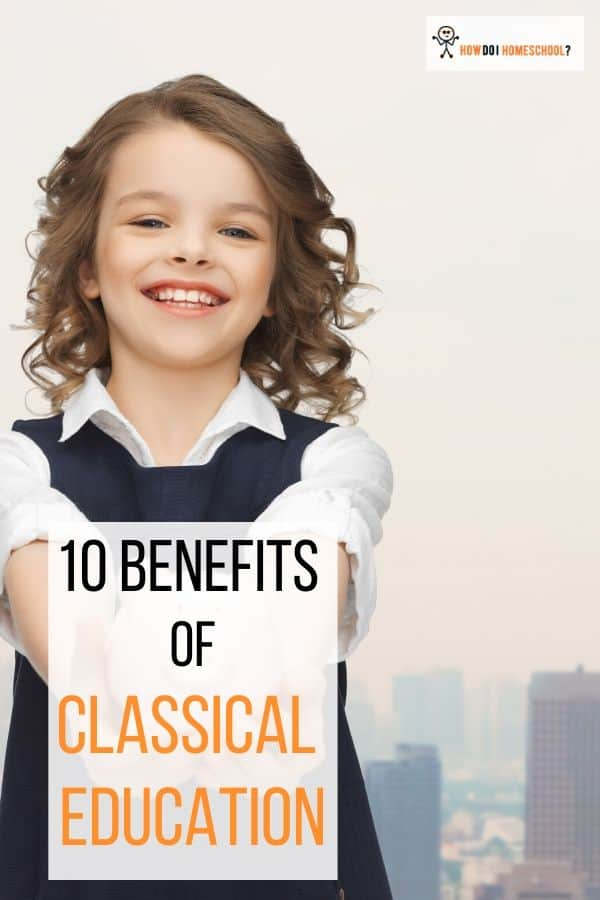 Discover the #benefits of classical education here including having students who are able to think logically and present themselves with poise and wisdom. #classicaleducation