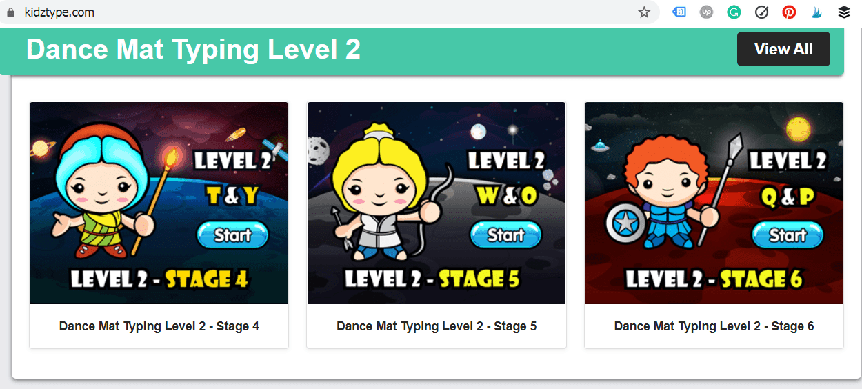 Get some great typing practice in with these free typing games at Type Kidz. This website, which is set up like a gaming website, teaches children how to type as well as giving them a great time on these fun typing games! #typingpractice #freetypinggames #funtypinggames