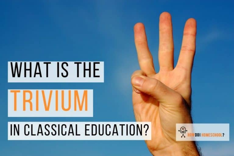 What is the Trivium in Classical Education? Learn about the grammar, logic, and rhetoric phases of the 7 Liberal Arts. #trivium #classicaleducation