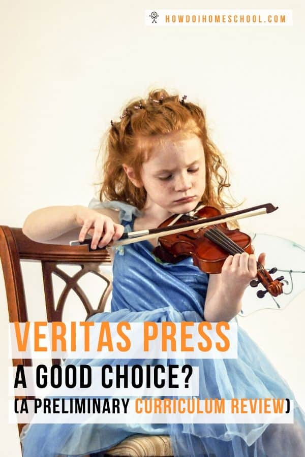 Is Veritas Press a good choice? Join me for a preliminary curriculum review as we look at this Classical Christian Homeschooling Curriculum based on the classical education method.