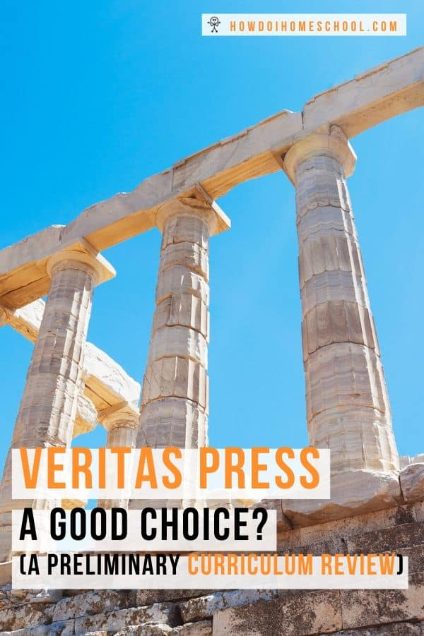 Is the Veritas Press curriculum a good choice for your family? Find out what this classical education homeschool curriculum can offer your children. #veritaspress #christianhomeschoolingcurriculum #classicaleducation