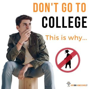 Why You Shouldn't Go to College. Do an Entrepreneurial Venture Instead!